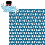 Winter Frolic: Let's Build A Snowman 2 Piece Laser Die Cut Kit