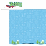 Winter Frolic: Sledding 2 Piece Laser Die Cut Kit