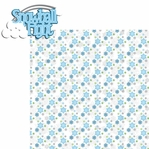 Winter Frolic: Snowball Fight  2 Piece Laser Die Cut Kit