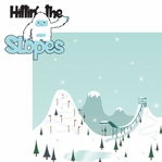 Winter Fun: Hittin' The Slopes 2 Piece Laser Die Cut Kit