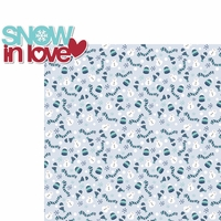Winter Fun: Snow In Love 2 Piece Laser Die Cut Kit