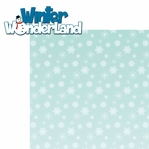 Winter Fun: Winter Wonderland 2 Piece Laser Die Cut Kit