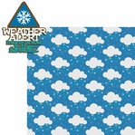 Winter Storm: Weather Alert  Laser Die Cut Kit