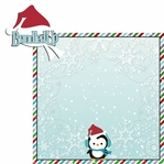 Winter Wishes: Bundled Up 2 Piece Laser Die Cut Kit