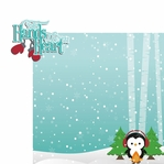 Winter Wishes: Cold Hands 2 Piece Laser Die Cut Kit