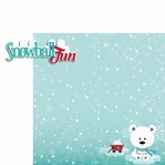 Winter Wishes: Snowball Fun 2 Piece Laser Die Cut Kit