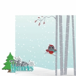 Winter Wishes: Winter Memories 2 Piece Laser Die Cut Kit