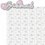 With This Ring: Bridesmaids 2 Piece Laser Die Cut Kit