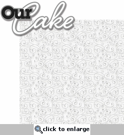 With This Ring: Our Cake 2 Piece Laser Die Cut Kit