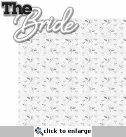 With This Ring: The Bride 2 Piece Laser Die Cut Kit