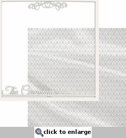 With This Ring: The Ceremony 12 x 12 Overlay Quick page Laser Die Cut