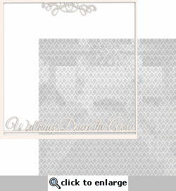 With This Ring: Walking Down The Aisle 12 x 12 Overlay Quick page Laser Die Cut