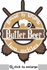 Wizard World: Buttered Beer Laser Die Cut