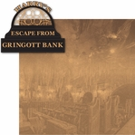 Wizard World London: Harry's Escape From Gringott Bank 2 Piece Laser Die Cut Kit
