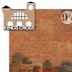 Wizard World London: Kings Cross 2 Piece Laser Die Cut Kit