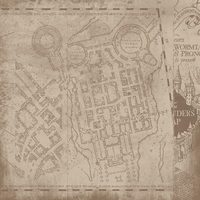 Wizard World: Marauder Map 12x12 Paper