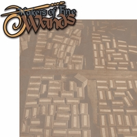 Wizard World: Wand Shop 2 Piece Laser Die Cut Kit