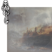 Wizarding World: Death Eater 2 Piece Laser Die Cut Kit