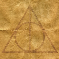 Wizarding World: Deathly Hallows 12 x 12 Paper