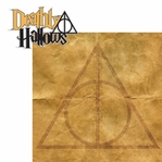 Wizarding World: Deathly Hallows 2 Piece Laser Die Cut Kit
