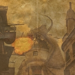Wizarding World: Diagon Alley 12 x 12 Paper