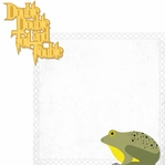 Wizarding World: Frog Choir 2 Piece Laser Die Cut Kit