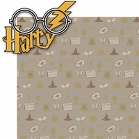 Wizarding World: Harry 2 Piece Laser Die Cut Kit