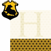Wizarding World: Hufflepuff 2 Piece Laser Die Cut Kit