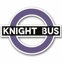 Wizarding World: Knight Bus 2 Piece Laser Die Cut