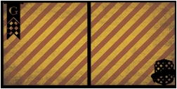 Wizarding World:Red Flag Double 12 x 12 Overlay Quick page Laser Die Cut