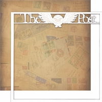 Wizarding World: The Post 12 x 12 Overlay Quick page Laser Die Cut