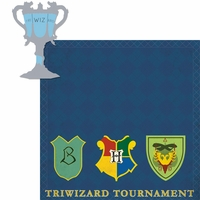 Wizarding World: Triwizard Tournament 2 Piece Laser Die Cut Kit
