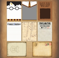 Wizarding World: Wizard Journaling Cards
