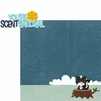 Woodland Creatures: You're Scent-sational 2 Piece Laser Die Cut Kit