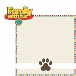 Woof: Family with Fur 2 Piece Laser Die Cut Kit