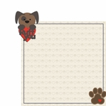 Woof: Ruff You 2 Piece Laser Die Cut Kit