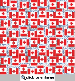 World Flags: Canada 12 x 12 Paper