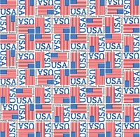 World Flags: United States 12 x 12 Paper