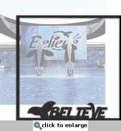 World Of The Sea: Believe 12 x 12 Overlay Quick Page Laser Die Cut
