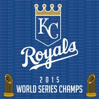 World Series: Kansas City Royals 12 x 12 Paper