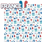 World Showcase: France 2 Piece Laser Die Cut Kit