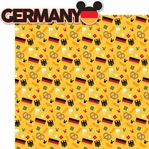World Showcase: Germany 2 Piece Laser Die Cut Kit