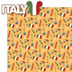 World Showcase: Italy 2 Piece Laser Die Cut Kit