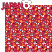 World Showcase: Japan 2 Piece Laser Die Cut Kit