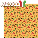 World Showcase: Mexico 2 Piece Laser Die Cut Kit