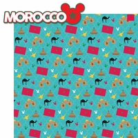 World Showcase: Morocco 2 Piece Laser Die Cut Kit