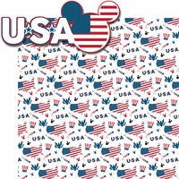 World Showcase: USA 2 Piece Laser Die Cut Kit
