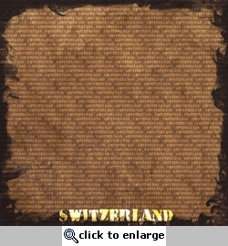 World Traveler: Switzerland 12 x 12 Paper