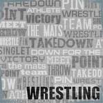Wrestling 12 x 12 Double-Sided Paper