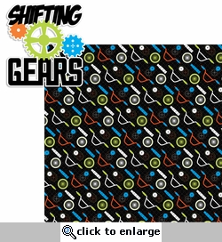 Xtreme: Shifting Gears 2 Piece Laser Die Cut Kit